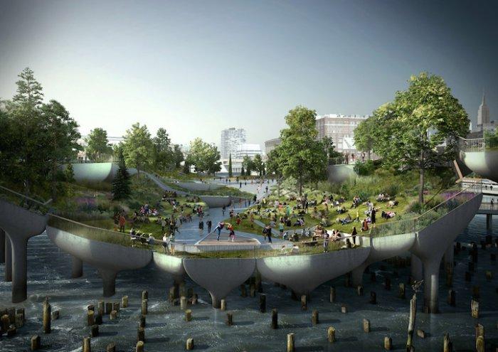 городской парк в нью-йорке пирс 55 3 (700x495, 255Kb)