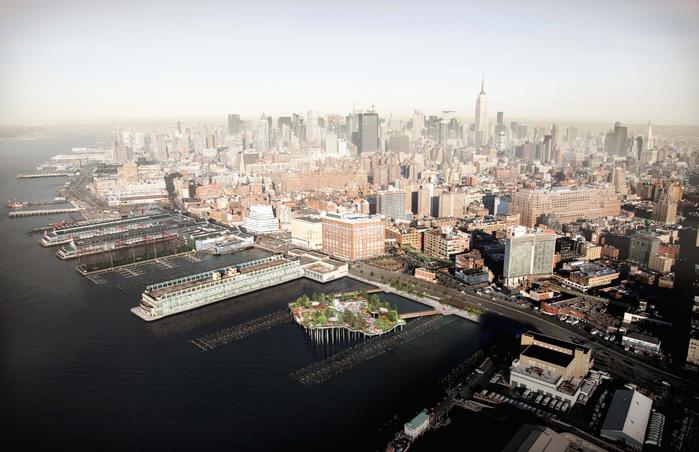 городской парк в нью-йорке пирс 55 6 (700x452, 330Kb)