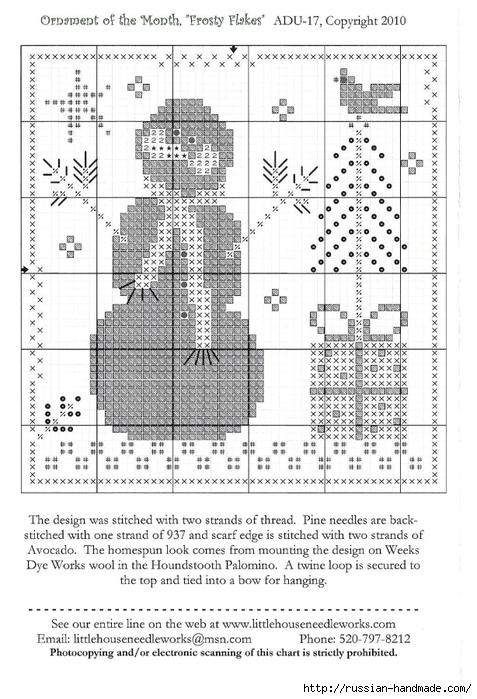 Вышивка. НОВОГОДНИЕ елочные шары и подвески (35) (477x700, 256Kb)