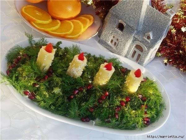 13 рецептов самых вкусных салатов к Новому году (12) (600x450, 176Kb)