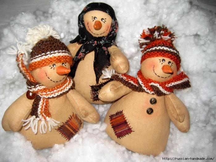 Кофейные снеговики к Новому году. Мастер-класс (2) (700x524, 322Kb)