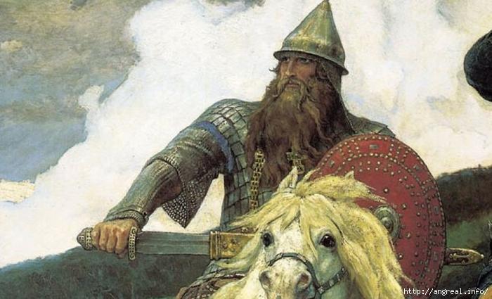 Традиционный арсенал русского богатыря