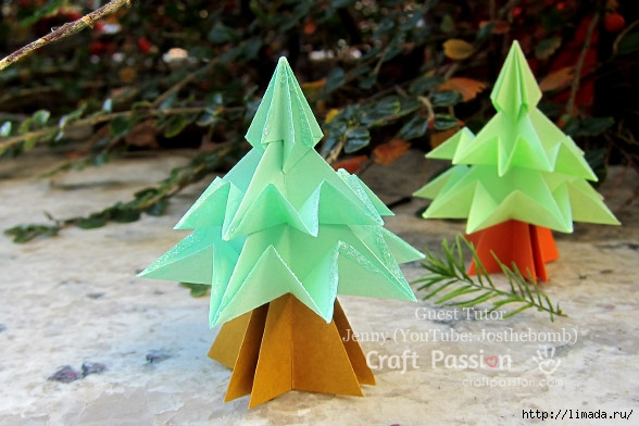origami-christmas-tree-5 (588x392, 157Kb)