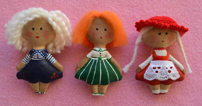 Куклы идеи мастер класс