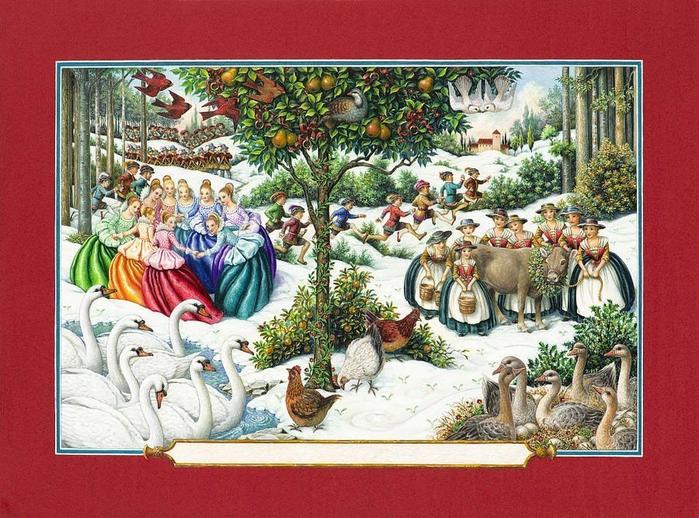 Новогодние иллюстрации от Lynn Bywaters7 (700x518, 474Kb)
