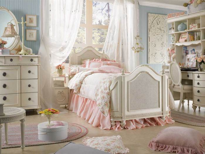 Shabby chic french bedroom furniture