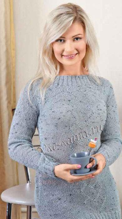 Udlinyonnyi-pulover-classicheskogo-kroia-ris (390x700, 72Kb)