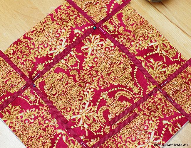Шитье текстильной корзинки для конфет (8) (650x505, 513Kb)
