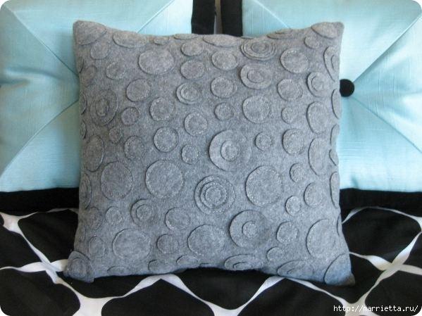 Декоративные подушки из фетра и войлока (26) (599x449, 131Kb)