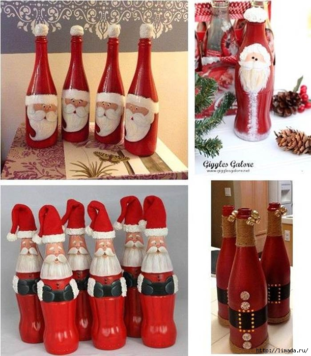 Creative-Ideas-DIY-Christmas-Hand-Painted-Glass-Bottle-Santa (611x700, 315Kb)