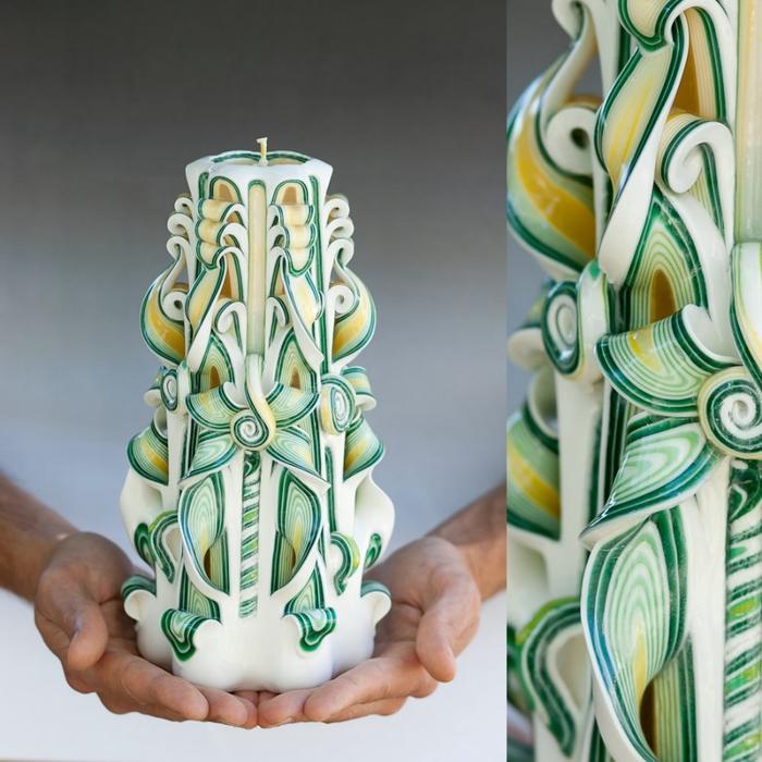 резные свечи ручной работы 15 (700x700, 295Kb)