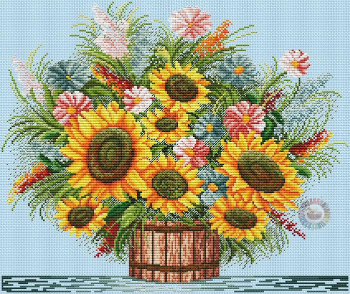 Sunflowers (700x587, 812Kb)