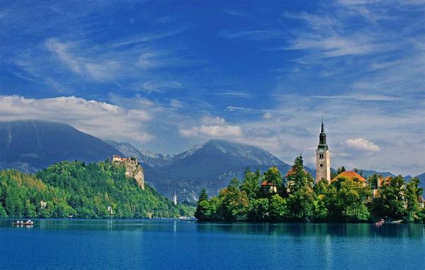Остров Блед в Словении9 (600x382, 299Kb)