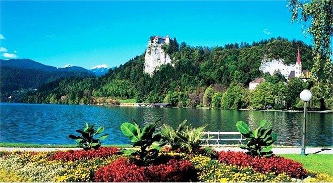 Остров Блед в Словении13а (660x363, 331Kb)