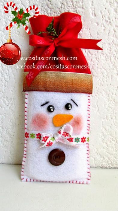 Санта Клаус - шьем чехол для телефона (8) (393x700, 304Kb)