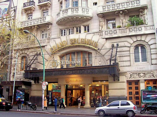книжный магазин в здании театра Буэнос-Айреса 1 (640x478, 357Kb)