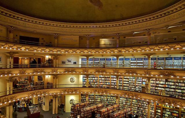 книжный магазин в здании театра Буэнос-Айреса 5 (640x411, 323Kb)