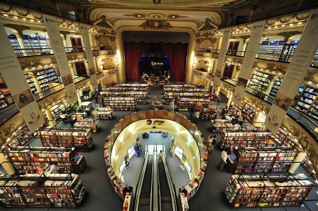 книжный магазин в здании театра Буэнос-Айреса 7 (640x425, 352Kb)