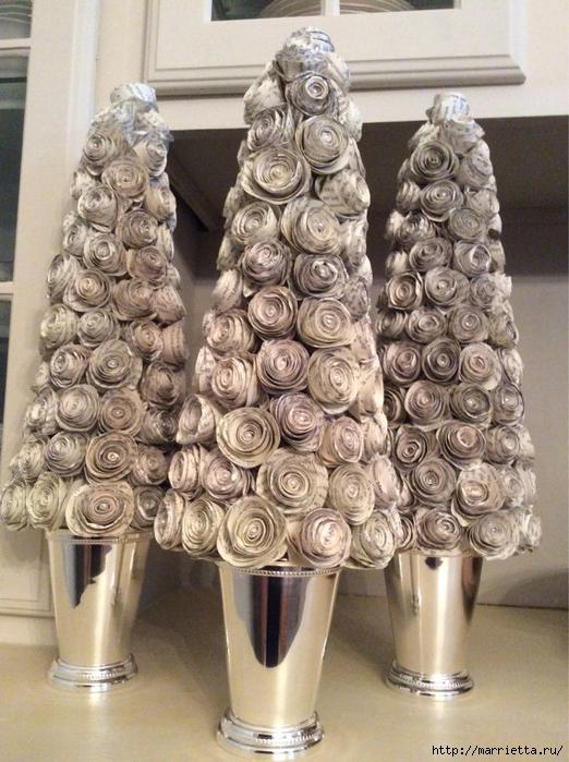 новогодние елки из спиральных розочек (9) (522x700, 310Kb)