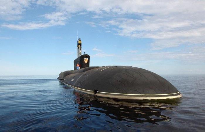 ракетный подводный крейсер стратегического назначения четвёртого поколения «Владимир Мономах»