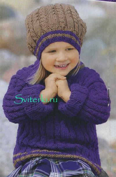 sviter_dlya_devochki_spicami_1 (400x610, 187Kb)