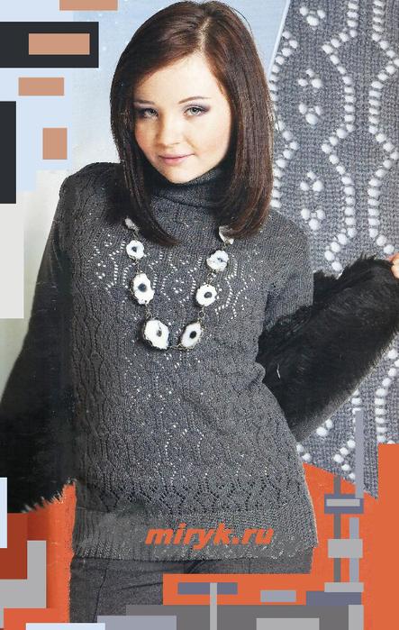 Ажурный-серый-свитер-фото (443x700, 360Kb)
