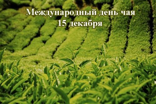 Сегодня международный день чая. Поздравления