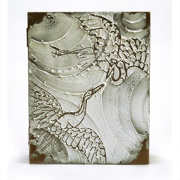 Рисунки рельефными пастами