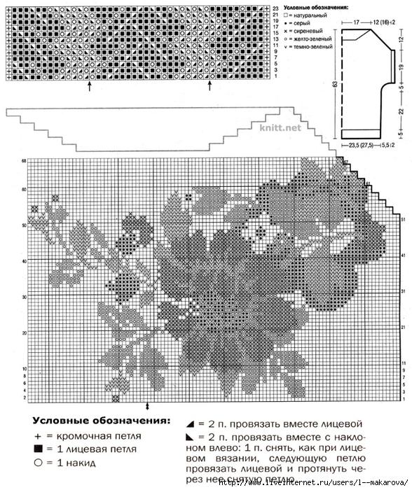 dzhemper-s-korotkim-rukavom-s-zhakkardovym-uzorom-shema (588x700, 355Kb)