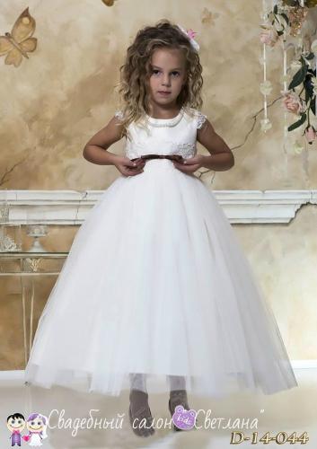Пышные детские нарядные платья