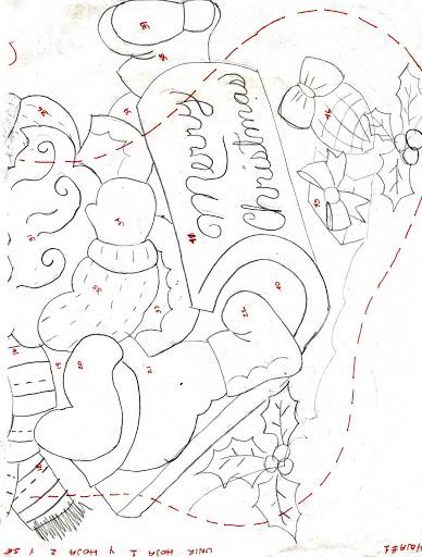 Шаблоны для пошива рождественских сапожков (9) (388x512, 158Kb)