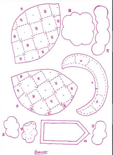Шаблоны для пошива рождественских сапожков (5) (372x512, 162Kb)