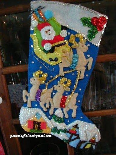 Шаблоны для пошива рождественских сапожков (12) (384x512, 189Kb)