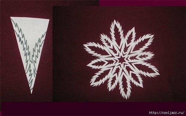 схемы снежинок к новому году5 (604x377, 118Kb)