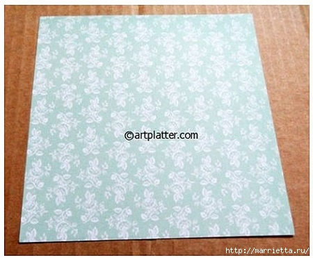 Елочка из бумаги в технике оригами (2) (450x371, 106Kb)