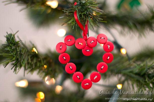 Пуговичное сердечко для новогодней елочки (1) (620x413, 153Kb)