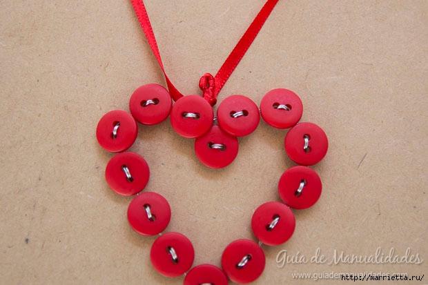 Пуговичное сердечко для новогодней елочки (8) (620x413, 143Kb)