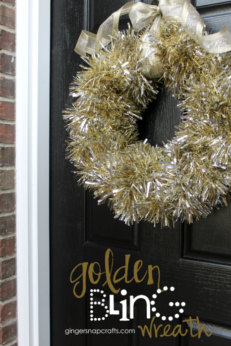 Golden Bling Wreath from GingerSnapCrafts.com (466x700, 650Kb)