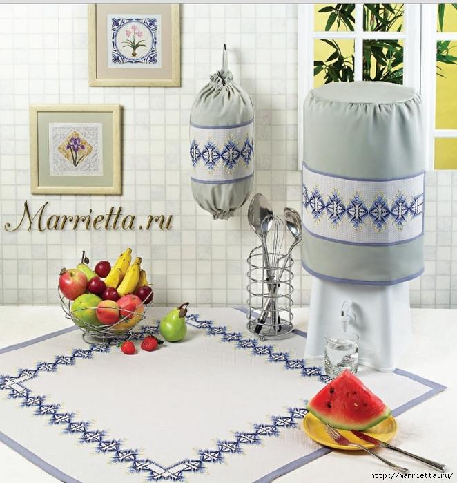 Нежная вышивка для кухни (1) (662x700, 333Kb)
