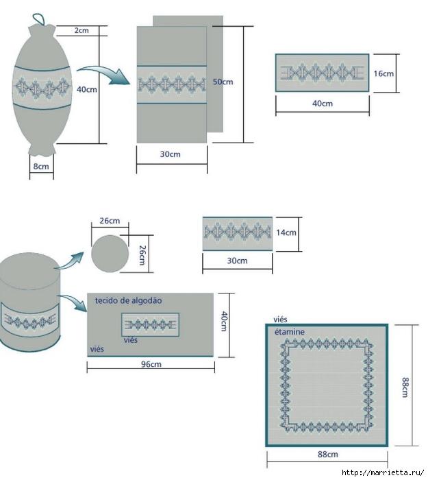 Нежная вышивка для кухни (3) (625x700, 129Kb)