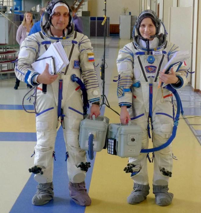 the first Italian woman astronaut