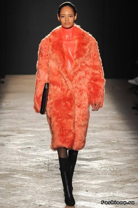 Пальто Из Искусственного Меха Купить