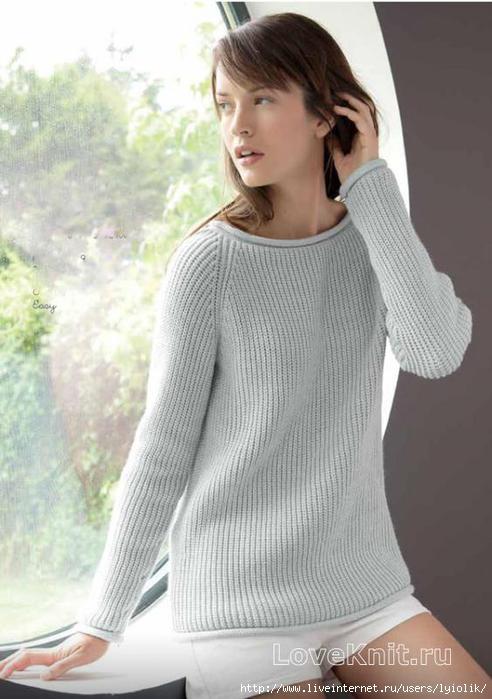 scheme-spicami-udlinennyy-seryy-pulover-rukavom-reglan (492x700, 140Kb)