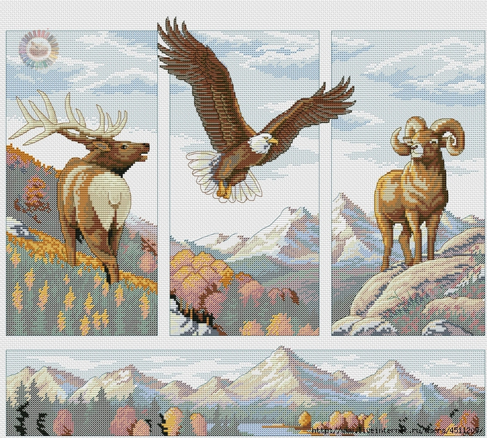 Rocky Mountain Beauty (700x629, 603Kb)
