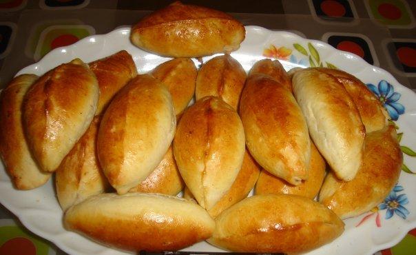 Пирожки рецепт с мясным фаршем пошаговый рецепт с в духовке