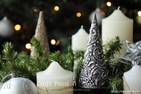 Рельефная новогодняя елочка из фольги. Мастер-класс (11) (588x392, 159Kb)
