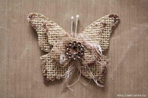 Бабочки из мешковины (27) (600x399, 174Kb)
