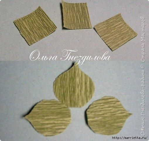Каменные розы или суккуленты из гофрированной бумаги (4) (509x480, 120Kb)