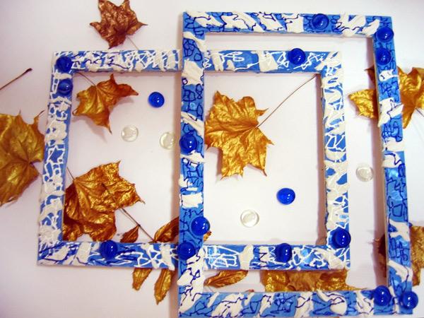 Как декорировать рамку для картины