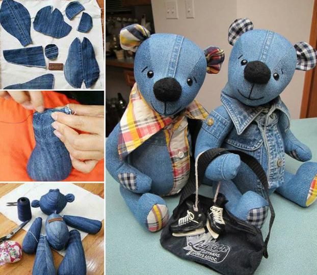 Шьем медведя из старых джинсов (1) (622x540, 602Kb)